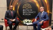 Ceyhun Bayramov Somalinin XİN başçısı ilə görüşüb