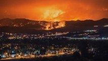 Kaliforniyadakı meşə yanğınları 110 min hektardan çox ərazini əhatə edib - VİDEO