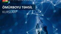 Qərbi Kaspi Universiteti ÖMÜRBOYU TƏHSİL proqramı üzrə kurslara start verir