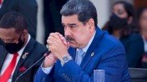 Maduroya Bakıda zümrüd qaşlı üzüyü kim bağışlayıb?
