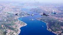 Azərbaycan və Türkiyə qırıcıları İstanbul səmasında uçuşlar keçiriblər - FOTO