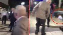 Kılıçdaroğlunun iştirak etdiyi toyda operator hovuza düşdü - VİDEO