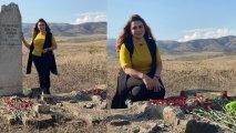28 il sonra ata və bacısının məzarını ziyarət etdi - FOTOLAR