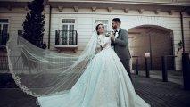 Tanınmış futbolçu evləndi- FOTOLAR