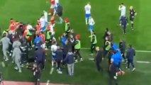 Erməni əsilli futbolçu Rusiya çempionatında dava saldı - VİDEO
