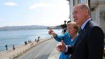 Türkiyə Merkelin gedişinə kədərlənir... - Vida görüşündə Ərdoğan kansleri təriflədi...