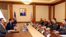 Zakir Həsənov NATO-nun Qafqaz və Mərkəzi Asiya üzrə xüsusi nümayəndəsi ilə görüşdü - FOTO