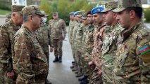 Azərbaycan Ordusunun yeni yaradılan komando hərbi hissəsi istifadəyə verilib - VİDEO