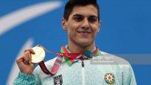 """Ən gənc paralimpiyaçımız: """"Qüsurlu insan cəhd etməyən, heç nədən başlamayan insandır"""""""