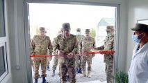 Zakir Həsənov hərbi obyektlərin açılışında - FOTO/VİDEO