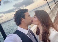Van Dammın oğlu nikahından yeni fotolar paylaşdı - FOTO