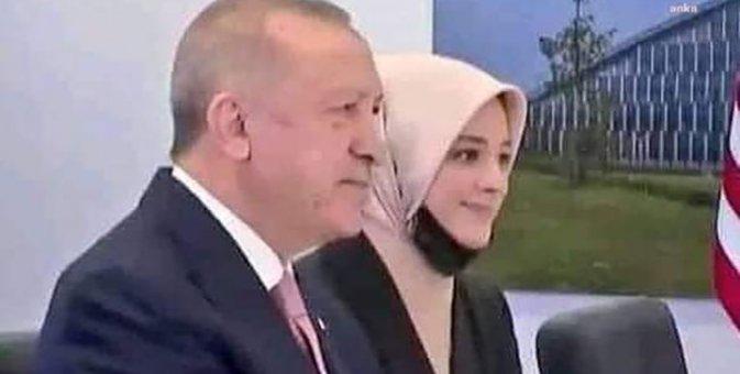 Ərdoğan Baydenlə görüşə hicablı tərcüməçi ilə qatıldı…-O xanım kimdir?..-FOTOLAR